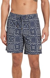 Reyn Spooner Original Lahaina Swim Trunks Ink