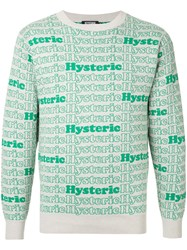 Hysteric Glamour Intarsia Jumper Brown