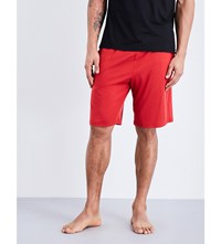 Derek Rose Basel Jersey Shorts Red