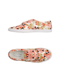 Bucketfeet Low Tops And Trainers Salmon Pink