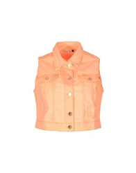 Amy Gee Denim Outerwear Orange