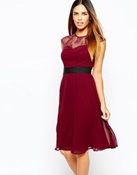 Elise Ryan Midi Prom Dress With Sweetheart Lace Top Wineblack