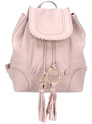 See By Chloe Polly Backpack Pink Purple