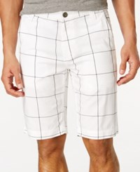 Inc International Concepts Windowpane Shorts Only At Macy's