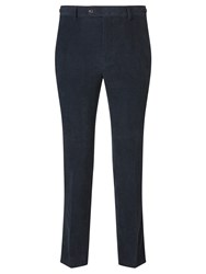 John Lewis And Co. Glympton Needle Cord Tailored Suit Trousers Whale Grey