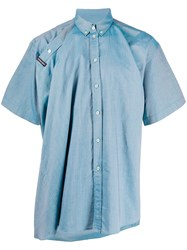 Y Project Chambray Short Sleeve Shirt 60