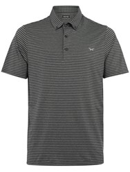 Wolsey Men's Slim Stripe Polo Grey