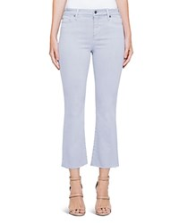 Liverpool Hannah Crop Flare Jeans In Fossil Gray