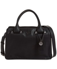 Guess Talan Large Top Handle Satchel Black