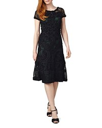 Phase Eight Tilly Tapework Lace Dress Forest