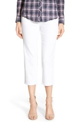 Jag Jeans Echo Pull On Crop Pant White