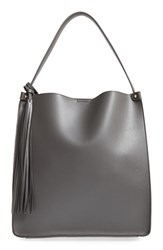 Emperia Structured Faux Leather Tote Grey