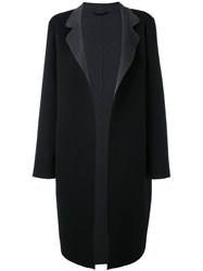 Liska Oversized Coat Women Cashmere M Black