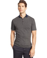 Vince Camuto Marled Stripe Polo