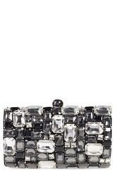 Natasha Couture Crystal Embellished Clutch