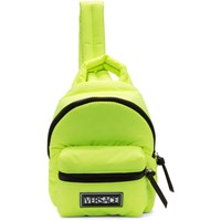 Versace Yellow Nylon Backpack