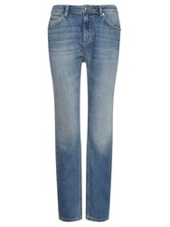 Whistles Light Wash Boyfriend Jeans Denim