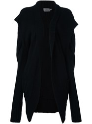 Preen By Thornton Bregazzi 'Riley' Long Cardigan Black
