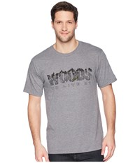 Toadandco Woods To Live By Short Sleeve Tee Gray Heather T Shirt