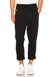 3.1 Phillip Lim Cropped Sweatpants In Black