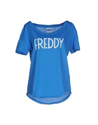 Freddy Topwear T Shirts Women Pastel Blue
