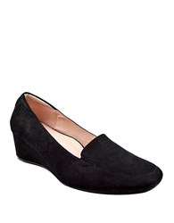 Taryn Rose Reyes Wedge Loafers Black