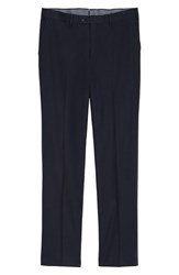 Rodd And Gunn Pembroke Slim Fit Twill Pants Navy