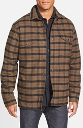 Men's Filson 'Alaskan Guide' Lined Plaid Flannel Shirt Jacket