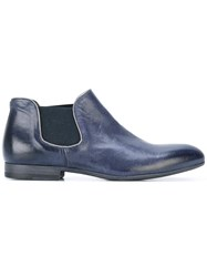 Pantanetti Slip On Ankle Boots Blue
