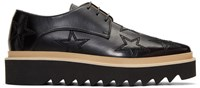 Stella Mccartney Black Star Luis Derbys