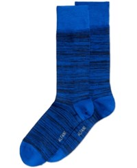 Alfani Men's Space Dyed Dress Socks Only At Macy's Blue Navy