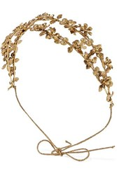 Jennifer Behr Adele Gold Tone Headband One Size