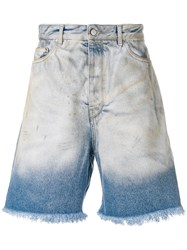 Golden Goose Deluxe Brand Classic Denim Shorts Blue