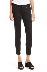 Free People Women's Levon Side Zip Crop Skinny Jeans