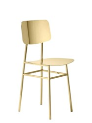 Ghidini1961 Miami Chair Gold