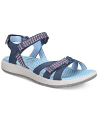 Bare Traps Wolfe Rebound Technology Sandals Women's Shoes Blue