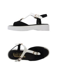 F Troupe Sandals Black