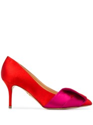 Charlotte Olympia Party Pumps Red