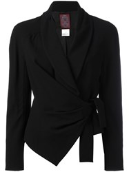 John Galliano Vintage Shawl Collar Jacket Black