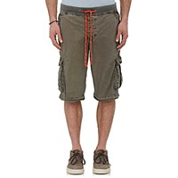 James Perse Men's Yosemite Cargo Shorts Green