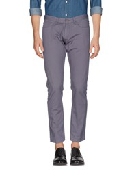 M.Grifoni Denim Trousers Casual Trousers Grey