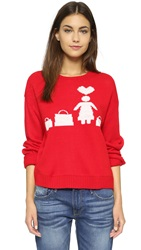 Re Named Shopping Sweater Red
