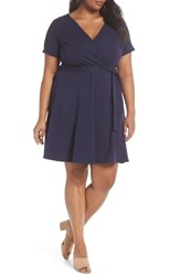 Dorothy Perkins Plus Size Fit And Flare Wrap Dress