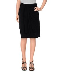 Baja East Skirts Knee Length Skirts Women Black