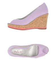 Bella B. Footwear Courts Women Lilac