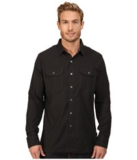 Kuhl Autonomous Long Sleeve Shirt Raven Men's Long Sleeve Button Up Black