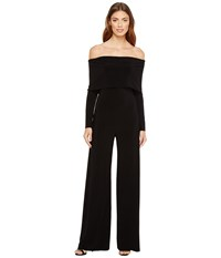 Norma Kamali Cowl Neck Jumpsuit Black Women's Jumpsuit And Rompers One Piece