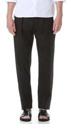Christophe Lemaire Elasticated Pants Black