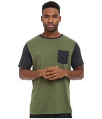 Matix Clothing Company Standard Clash T Shirt Army Men's T Shirt Green