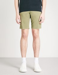 Tiger Of Sweden Hills Regular Fit Cotton Chino Shorts Green